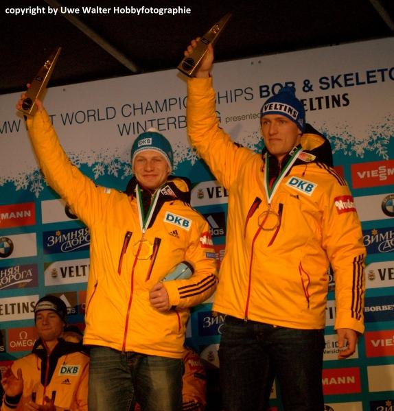 Francesco Friedrich und Thorsten Margis