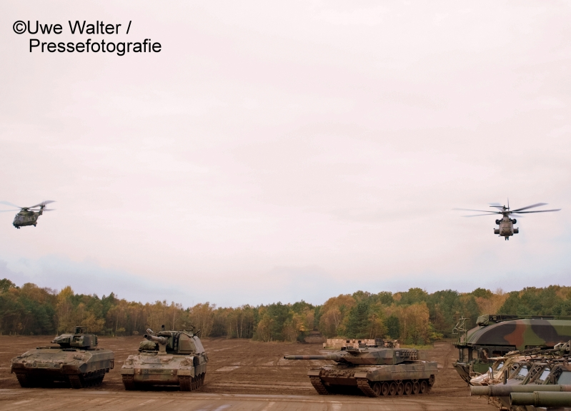 Informations- und Lehrübung der Bundeswehr 2017