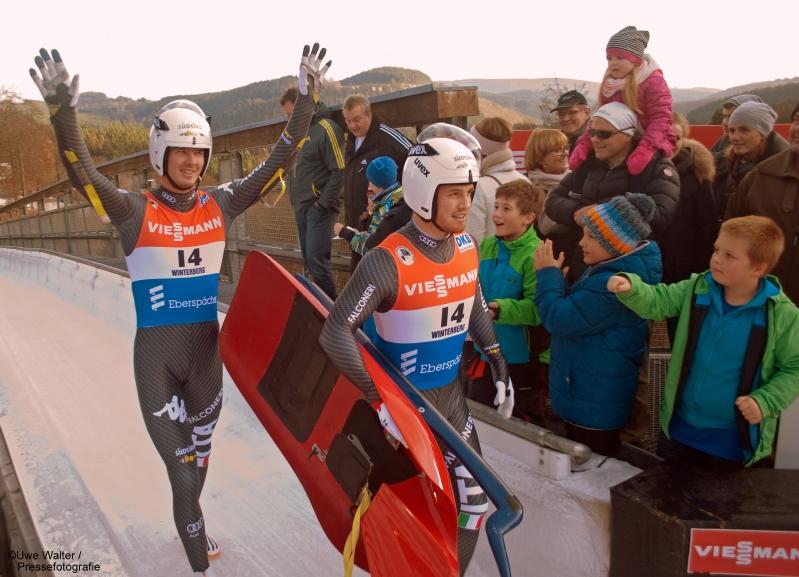 Auftakt Rodelweltcup 2016 in Winterberg