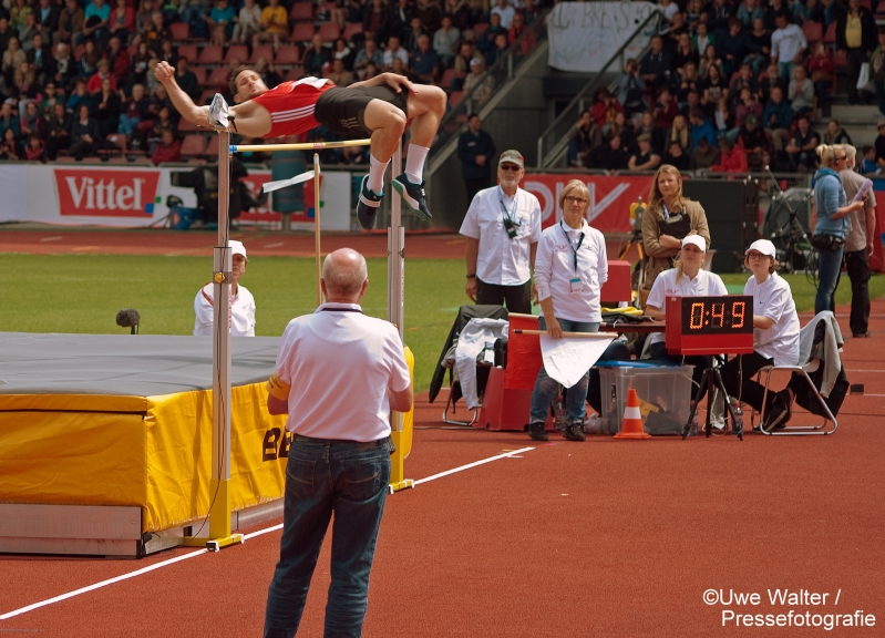 deutsche Meisterschaften der Leichtathleten in Kassel 2016