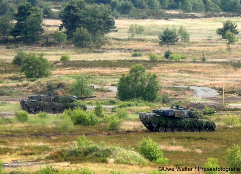 TrÜbPl Bergen Kampfpanzer Leopard 2