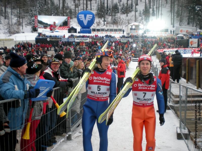 Skispringen Willingen 2011
