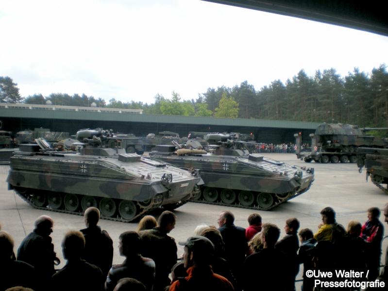 Schützenpanzer Marder in Augustdorf beim AST