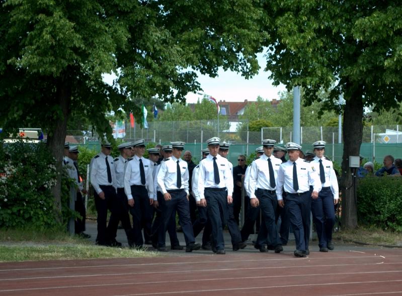 Vereidigung hessische Polizeianwärter