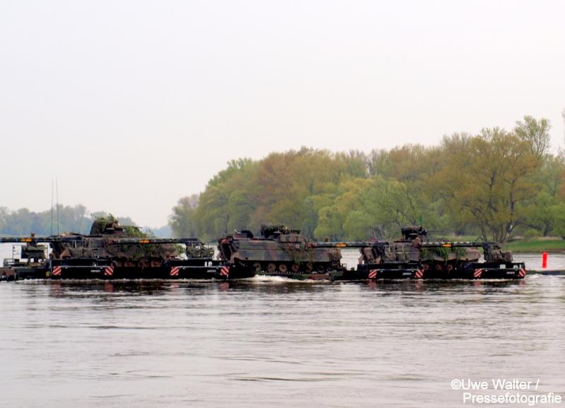 Gewässerübergang an der Elbe bei Storkow