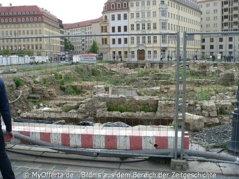 Dresden, Altstadt im Sommer 2015
