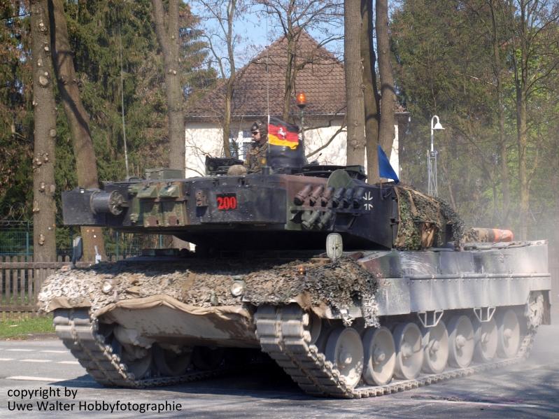 Panzerbataillon 203 in Sennelager