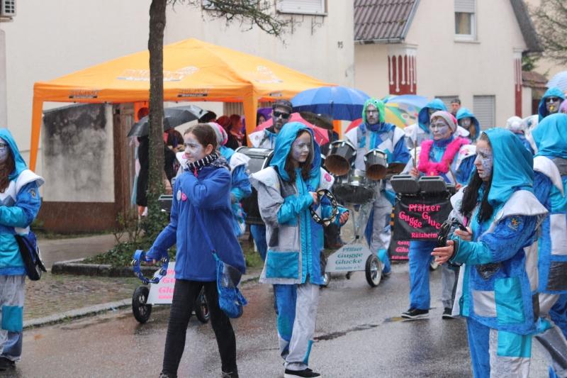 Faschings Umzugs in Herxheim 2020