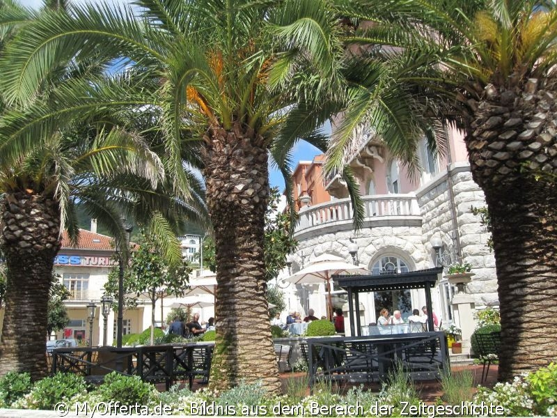 Opatija - die Perle des Tourismus