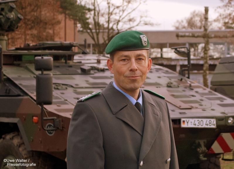 Neuer Kommandeur bei der