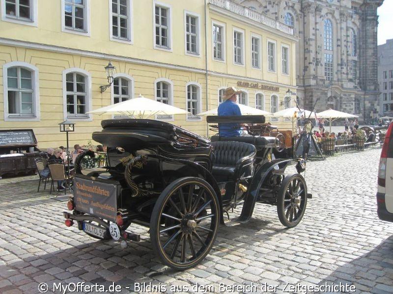 Dresden, Altstadt im Sommer 2017