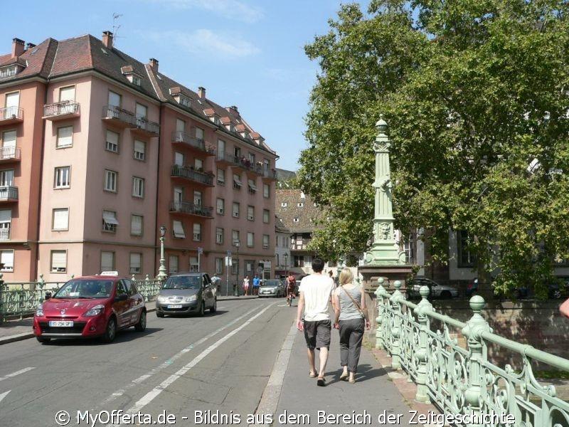 Andzelika Pallach besucht Straßburg