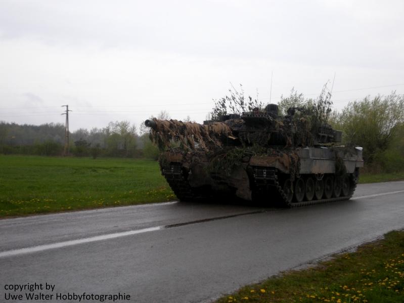 Kampfpanzer Leopard 2A6 vom PzBtl 203