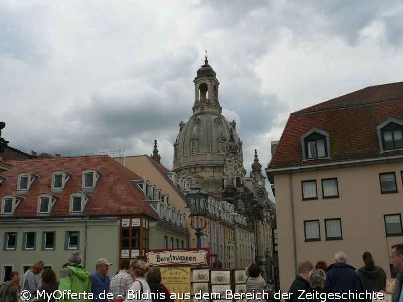 Die Frauenkirche Dresden blickt auf eine tausendjährige Geschichte zurück.