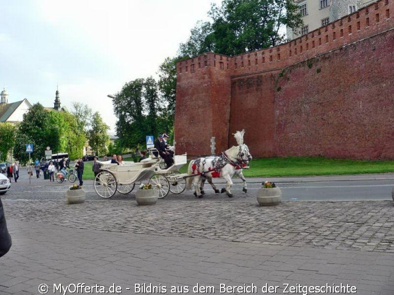 Ein Spaziergang über die Strassen von Krakau