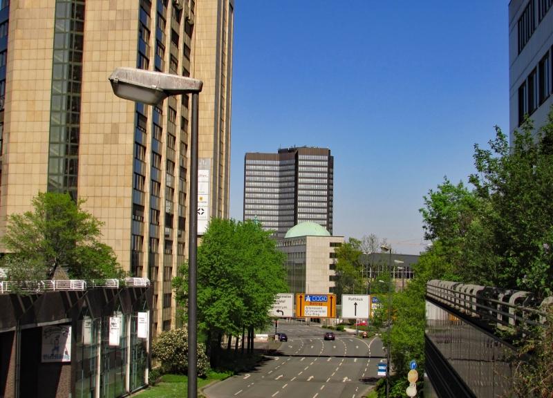 Stadt Essen, Rathaus im Fokus