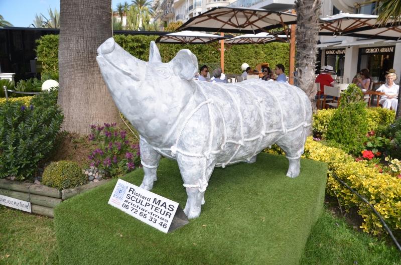 Kunst auf der Croisette von Cannes