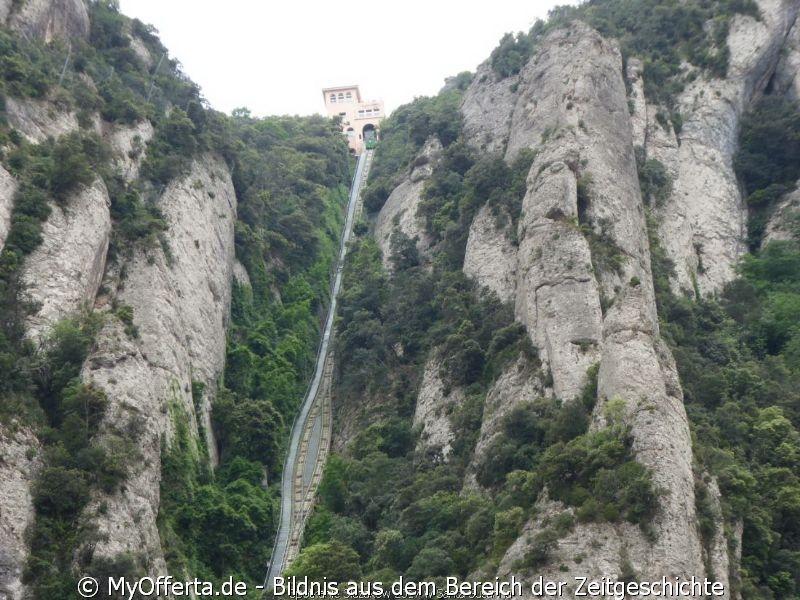 Das Montserrat-Kloster ist das spirituelle Zentrum Kataloniens in Spanien