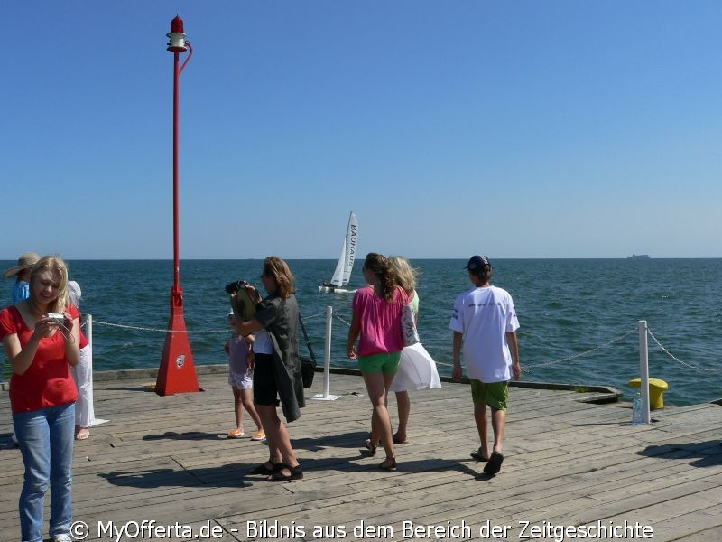 Der Pier bleibt der bekannteste Punkt von Sopot