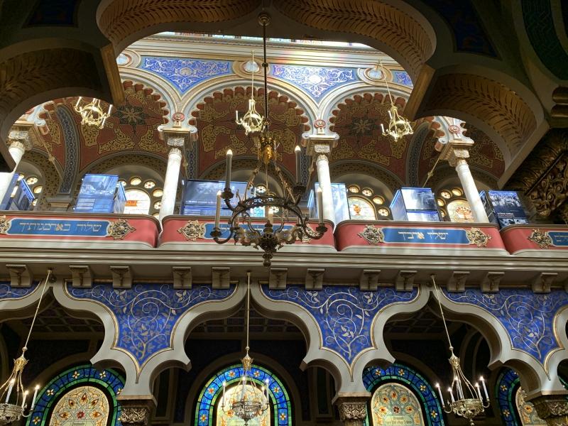Islamische Bögen - Jerusalemsynagoge Prag 2020