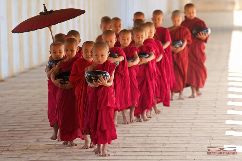 Novizen von Myanmar
