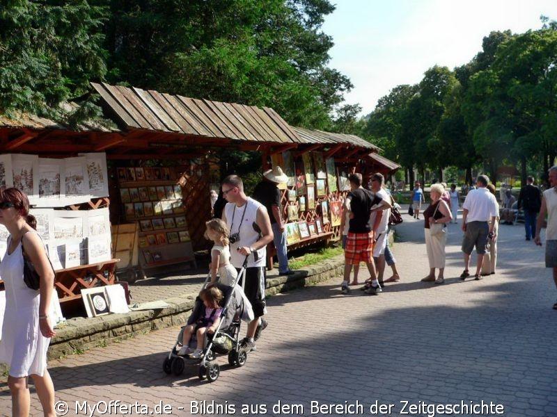 Krynica Zdroj, Kur, Heilquellen, Polen