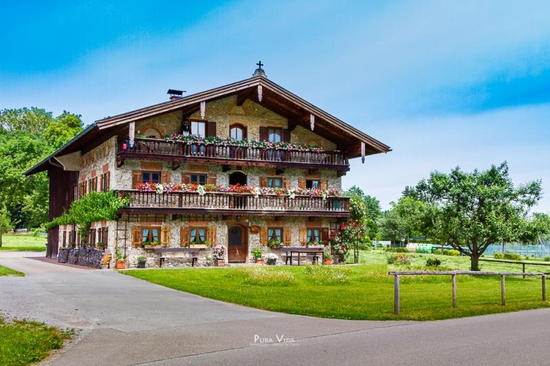 Altes Bauernhaus / Chiemgau
