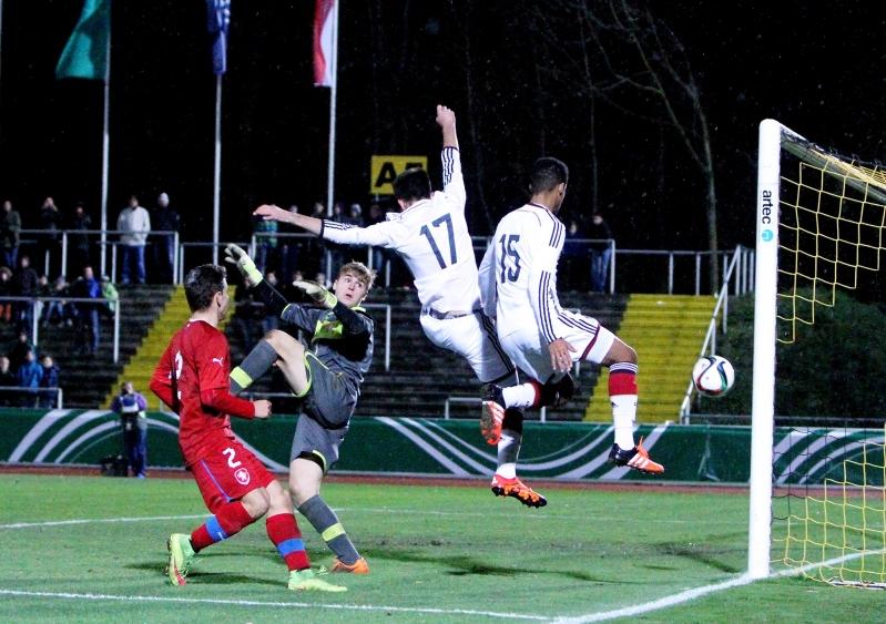 Fußballländerspiel Deutschland U16 - Tschechien U16