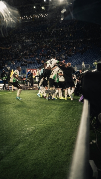 Reportage für DAZN: Europa League AS ROM - BORUSSIA MÖNCHENGLADBACH