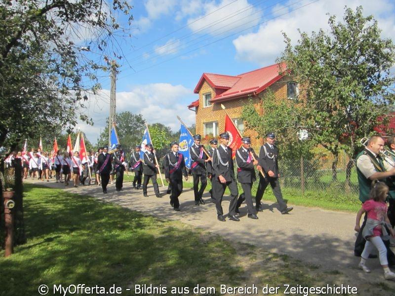 Am 2. September 2012 fand das kommunale Erntefest fand in ?wietlino in Kaschuben statt.